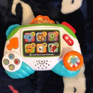 Leap frog game controller